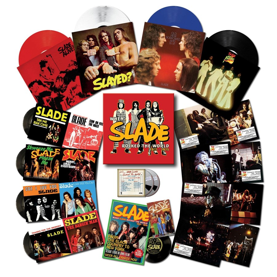 Slade When Slade Rocked The World Box